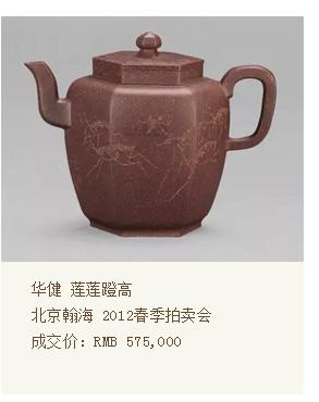 华健莲莲蹬高北京翰海2012春季拍卖会